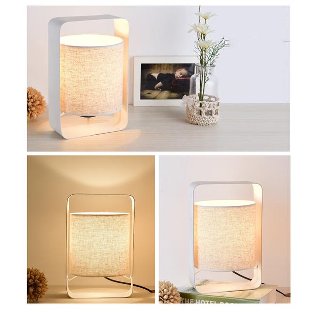 Rectangular Shaped Table Lamp