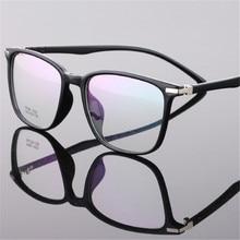 Clássico da moda caixa Redonda óculos de Computador TR90 Leitura Unisex homem Mulher Prescrição Armações de Óculos Óptica 1021