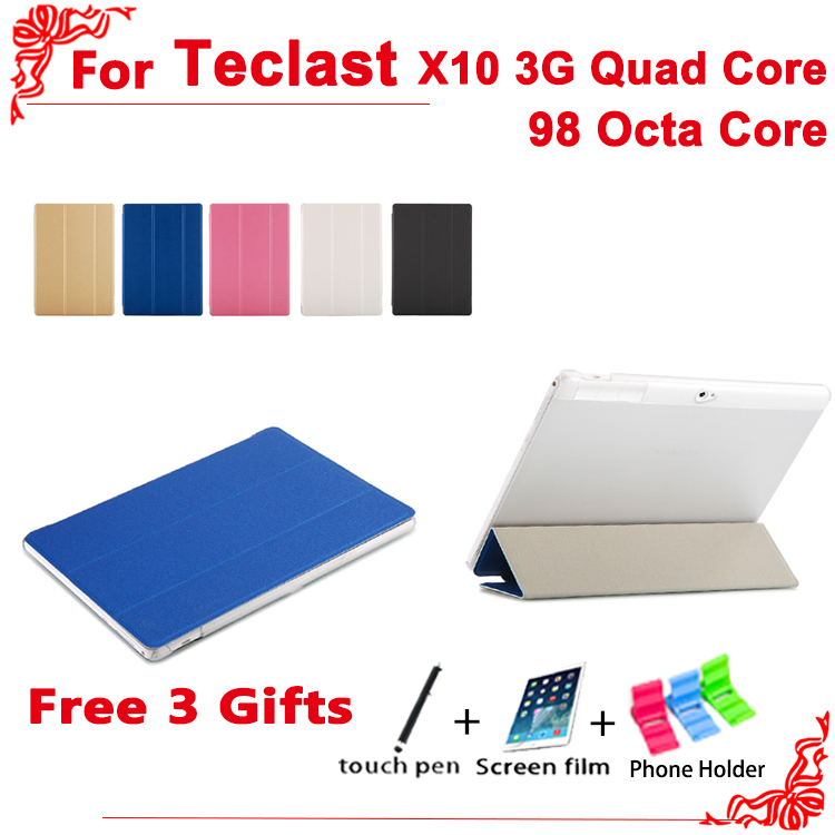 Ultra Slim PU case For Teclast X10 quad core/98 octa core Protective Flip Cover Case For Teclast 98 octa core+ free 3 gifts цена 2017