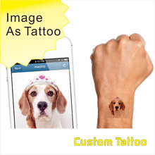 Customize Your Image Photo Picture As Tattoo You Can Make Your Own Custom Tattoo Design