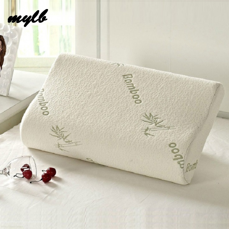 Mylb Sleeping Bamboo Memory Foam Orthopedic Pillow Pillows Oreiller Pillow Travesseiro Almohada Cervical Kussens Poduszkap