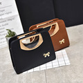 Wholesale bags and setting 2017 new autumn and Winter Fashion Handbag Shoulder Messenger Bag bow hand bag