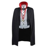 Halloween Vampire Costume Dickie With Cape Pendant For Men