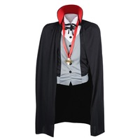 Halloween Vampire Costume Dickie With Cape Pendant For Men