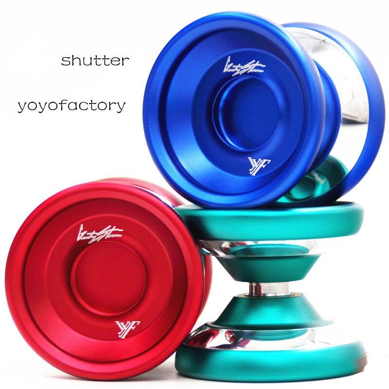 YYF shutter YOYO Wide version Polished ring alloy YOYO for professional yoyo player