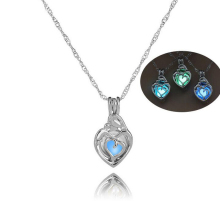 Dropshipping Loving Brtween Mother Kids Heart Pendant Neckla