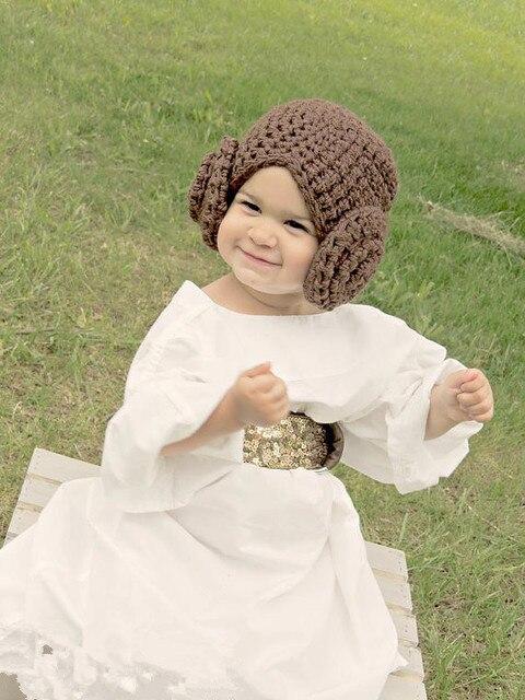 Prinzessin Leia Kostüm Häkeln Star Wars Prinzessin Leah Haar Hut Perücke Kinder Star Wars Kostüm Comic Con Kostüm Baby Cosplay In Prinzessin Leia