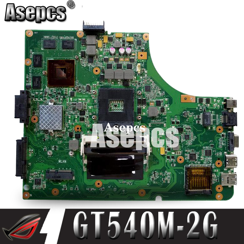 Asepcs K53SV Laptop Motherboard For ASUS K53SM K53SC K53S K53SJ P53SJ A53SJ Test Original Mainboard REV2.1/2.4/3.0/3.1GT540M-2GB