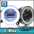 UNION Car Styling Angel Eye Fog Lamp for Grand C-MAX LED DRL Daytime Running Light High Low Beam FogLight Automobile Accessories
