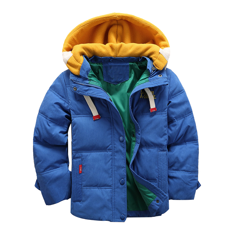 Boy Duck Down Coat winter kids outerwear boys casual warm hooded jacket for boys solid boys warm coats 4 5 6 7 8 9 10 11 12 year new 2017 russia winter boys clothing warm jacket for kids thick coats high quality overalls for boy down