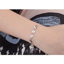 TJP New Fashion 925 Silver Girl Bracelets Jewelry Top Qualit