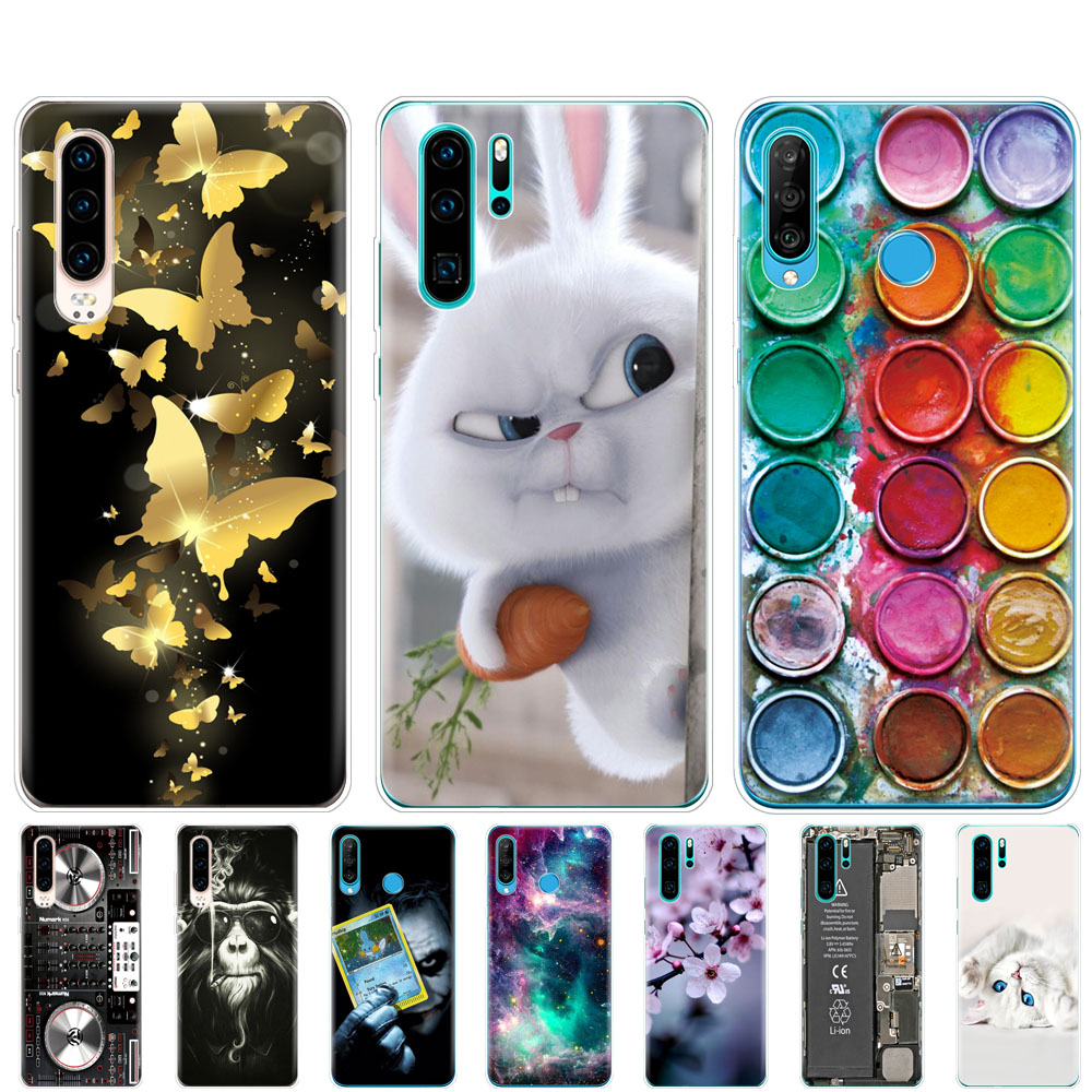 case for Huawei P30 Pro Case Huawei P30Pro Case Silicone TPU Phone Back Cover On Huawei P30 Pro VOG-L29 ELE-L29 P 30 Lite Case