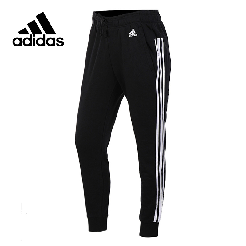 Adidas Original New Arrival Official Performance Women's knitted Pants Breathable Elatstic Waist Sportswear S97117 adidas new arrival official ess 3s crew men s jacket breathable pullover sportswear bq9645
