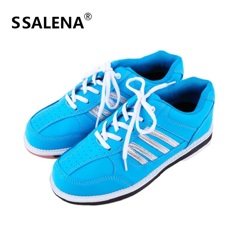 Для мужчин и женщин, профессиональная обувь для боулинга с нескользящей подошвой дышащие кроссовки из сетки на открытом воздухе носимых тренировочный Спортивный обувь AA11040