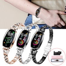 Get more info on the Luxury Women H8 Smart Bracelet Fitness Wristband Watch Waterproof IP67 with Heart Rate Blood Pressure Monitor Tracker for Phone
