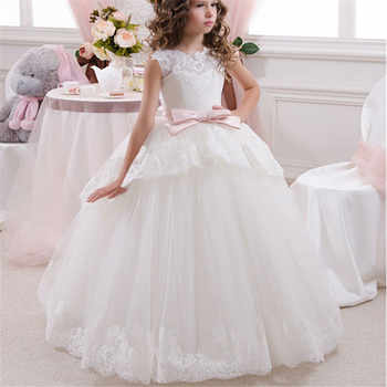 Princess Flower Girl Dress Summer 2019 Tutu Wedding Birthday Party Dresses For Girls Children's Costume Teenager Prom Designs - DISCOUNT ITEM  22% OFF All Category