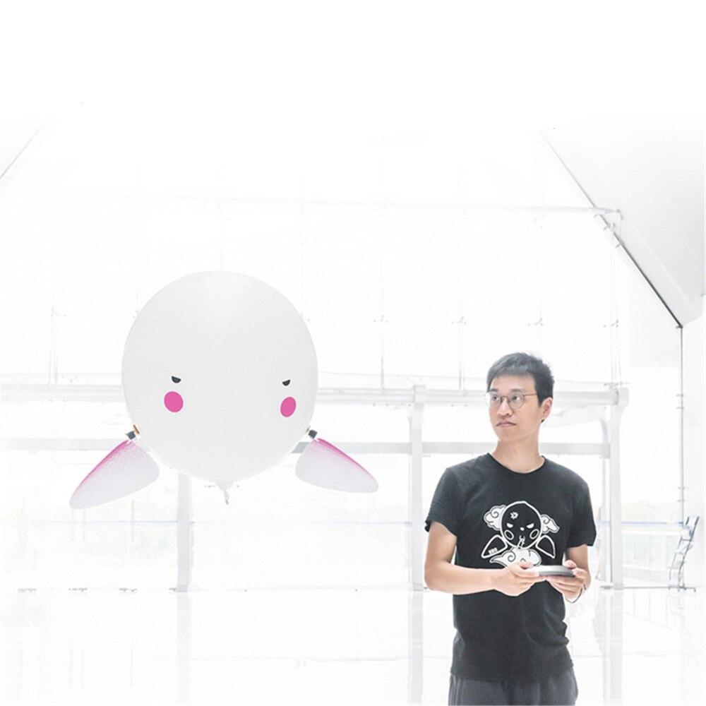 JJRC H80 Qbo Fly Drone Drone 2.4G Ballon D'hélium RC Robot 30 minutes Vol Anti-Déflagrant Conception Étanche Télécommande Jouets