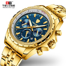 Tevise Mens Top Brand Luxury Fashion Men Business Mechanical Watches Automatic Watch Waterproof Male Clock Relogio Masculino все цены