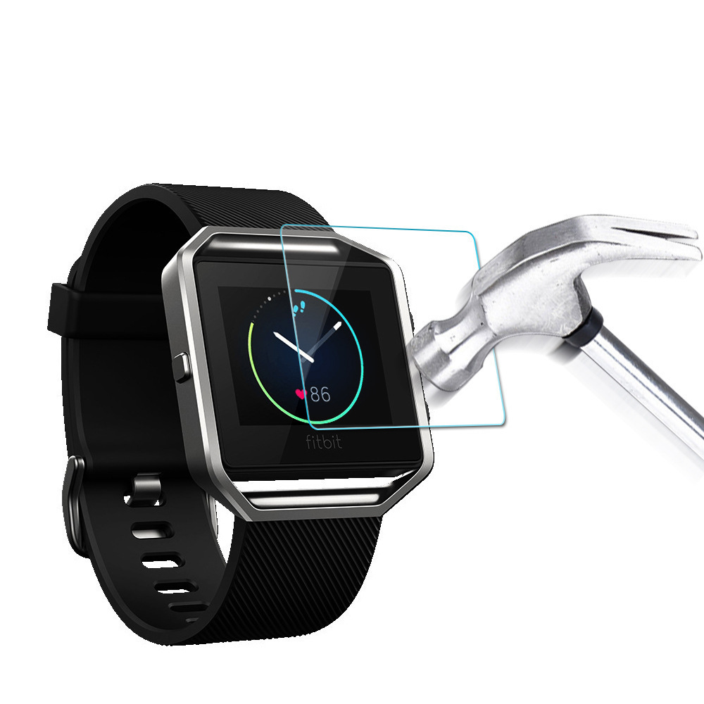 Premium Tempered Glass Screen Watch protective film for fitbit Blaze 9H 2.5D Anti-shatter Tempered Watch protective film