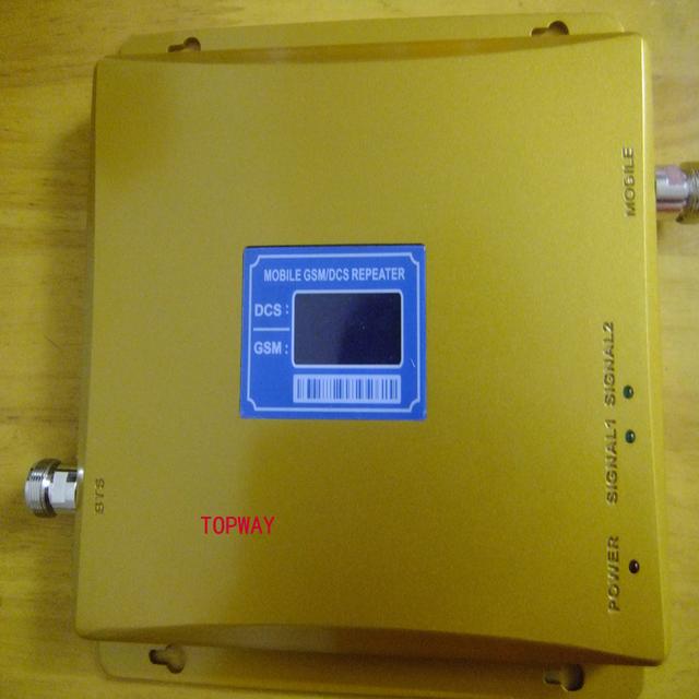 Nueva dcs Doble Banda GSM DCS Repetidor de Señal de Telefonía Móvil GSM Amplificador de señal, SIGNALAmplifier gsm
