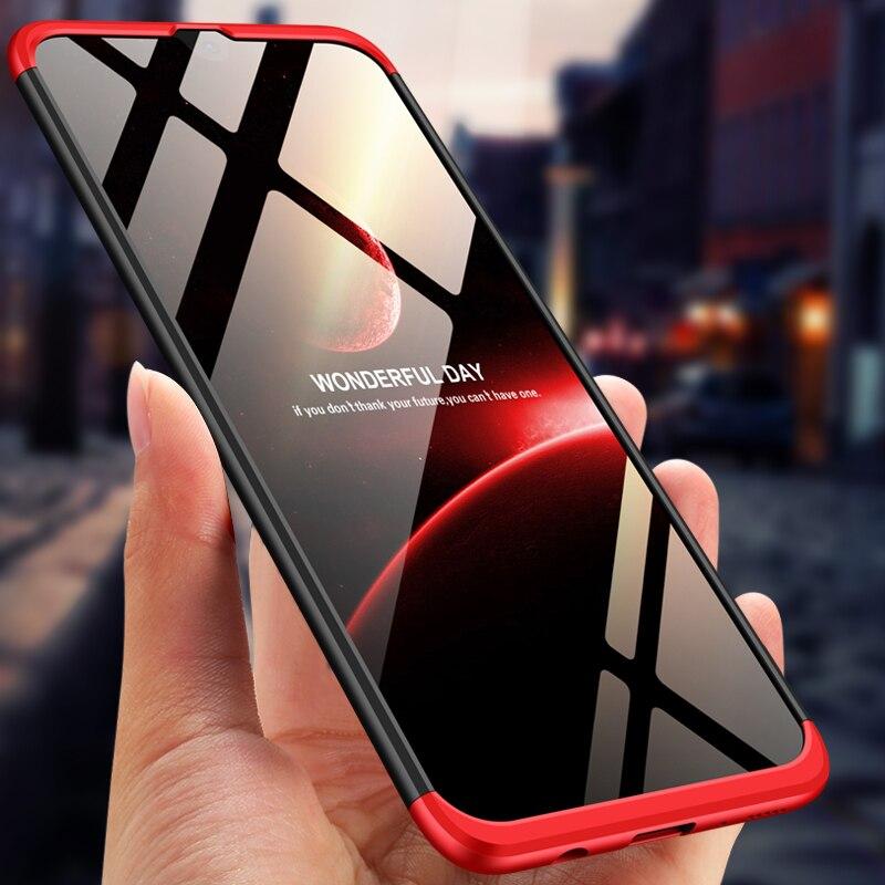 Para Galaxy A40 funda 360 protección completa a prueba de golpes teléfono mate funda para Samsung Galaxy A40 SM A405F|Fundas ajustadas|   - AliExpress