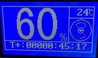 Faser lichtquelle für hohe dichte helligkeit beleuchtung/120 Watt Led laparoskopie LAMPE mit LCD Knopf controller