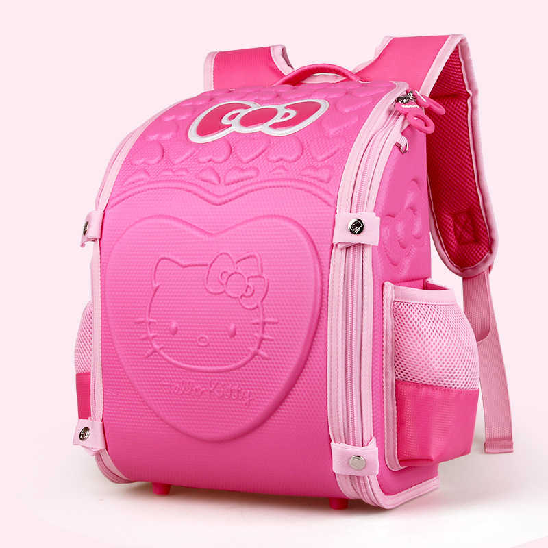 Hello Kitty School Backpack Children School Bags For girls kids Bag kit  Schoolbag EVA Orthopedic Backpacks f2ef29cc0196e