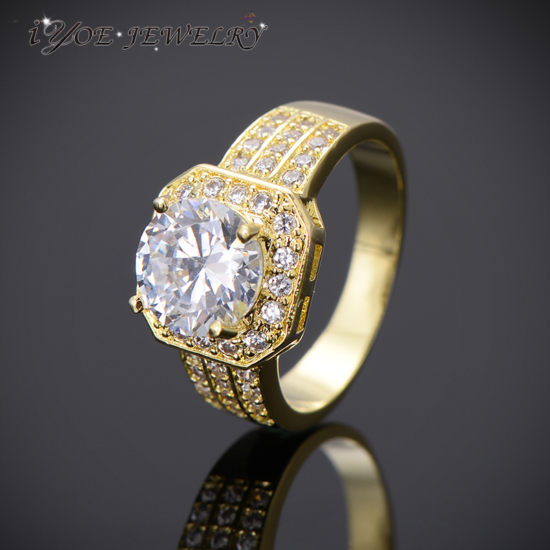 Wedding Gifts For Couple Jewellery : ... Wedding Rings Couple Jewelry Anniversary Gifts-in Rings from Jewelry