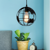 New Modern Creative Arts Hallway Lamp Scandinavian Minimalist Single head Earth Pendant Light For Cafe Bar Restaurant Bedroom