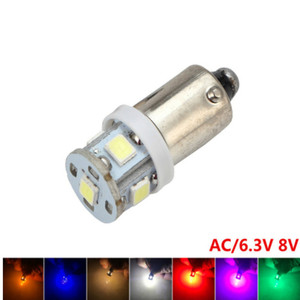 Image 5 - 100PCS ba9s t4w Bayone tw5w AC 6V/6.3V 8v 2835 5SMD LED Pinball Machine Light Bulb Lamp Non ghosting/anti flickering Eight color