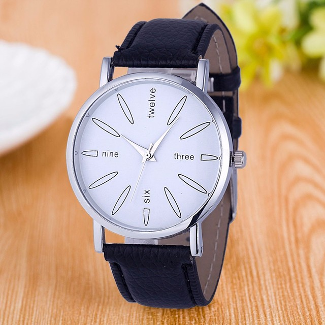 Duobla Women Watches Minimalist Faux Leather Strap Relojes mujeres Analog Quartz Watch relogios Wristwatches Dropshipping 30Q
