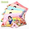 5 Piece/lot Hot Sell Soft Cotton Kids Underwear Cute Cartoon Sno Princess Girls Panties Girls Boxer Children's Pants Underpants