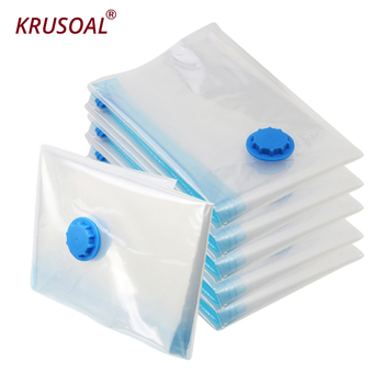 Home Vacuum bags for clothes Storage Organizer Transparent Border Foldable Extra Large Seal Compressed travel Saving Space Bags clothes storage bag compressed vacuum bag for clothes quilt bedding pillow folding clothes organizer travel saving space bags
