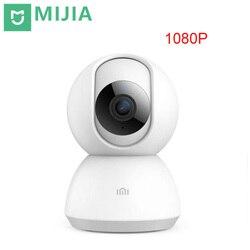 Xiaomi Original Mijia inteligentne kamery ip 1080P WiFi Night Vision 360 stopni widok monitor bezpieczeństwa detekcji ruchu zaktualizowana wersja w Moduły automatyki domowej od Elektronika użytkowa na