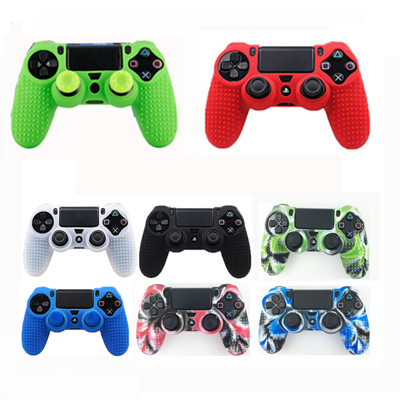 Anti-Slip Protective Silicone skin Case Cover For Sony Playstation 4 PS4 Controller for PS4 slim pro Controller