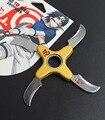Naruto shuriken dobrável girando, dardos de rotação do rolamento, Anime arma modelo brinquedos, faca de brinquedo, presentes para as crianças.