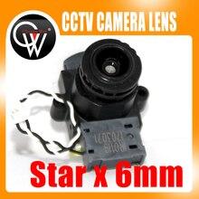 Starlight 6mm lens +IR CUT 93.7 Degree F1.5 1/3.2″ M12 CCTV lens for 720P/1080P CCTV IP Camera
