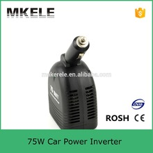 Modified Sine Wave USB Output DC 5V Car Power Inverter 12vdc To 120vac Power Inverter for Cars 75W