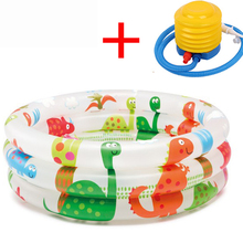 Inflatable Kids Pool Swim Infant Plastic Portable Bathtub Home Baby Swimming Family Kid Pools Big Toddler Water Slide Dry