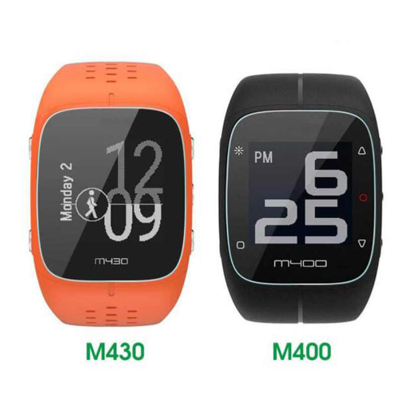 Sport Smartwatch Tempered Glass Protective Film Guard For Polar M400 M430 Bluetooth Fitness Screen Protector Cover