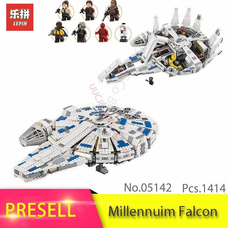LEPIN 05142 Star Series War The Millennuim Falcon Model Building Blocks Bricks Educational Toys For Children Gift 75212