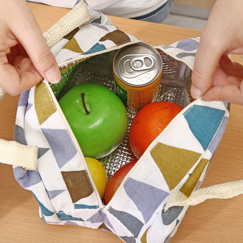 4L Thickening Cooler Bag Ice Pack Insulated Lunch Bag Cold Storage Bag Fresh Food Picnic Container High Quality Bag Refrigerator