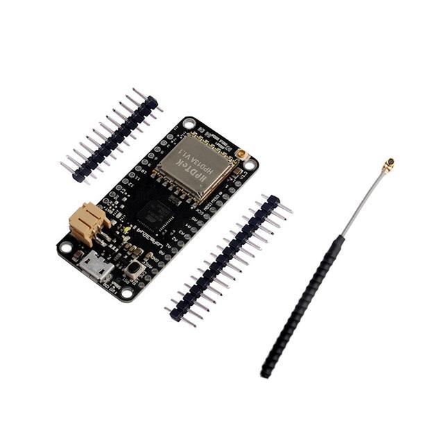 LoRa32u4 II Lora Development Board 868mhz 915 MHz IOT Module LiPo Atmega328 SX1276 HPD13 with GSM IPX IPEX 1.13 UF.L Antenna