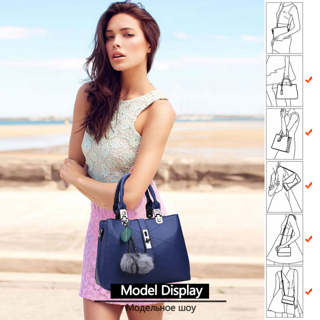 TANGYUE Leather Bags Women's Shoulder Bag Black Handbags Small Soft Fashion PU Casual Hand Bag for Grils Crossbody sac a main 5