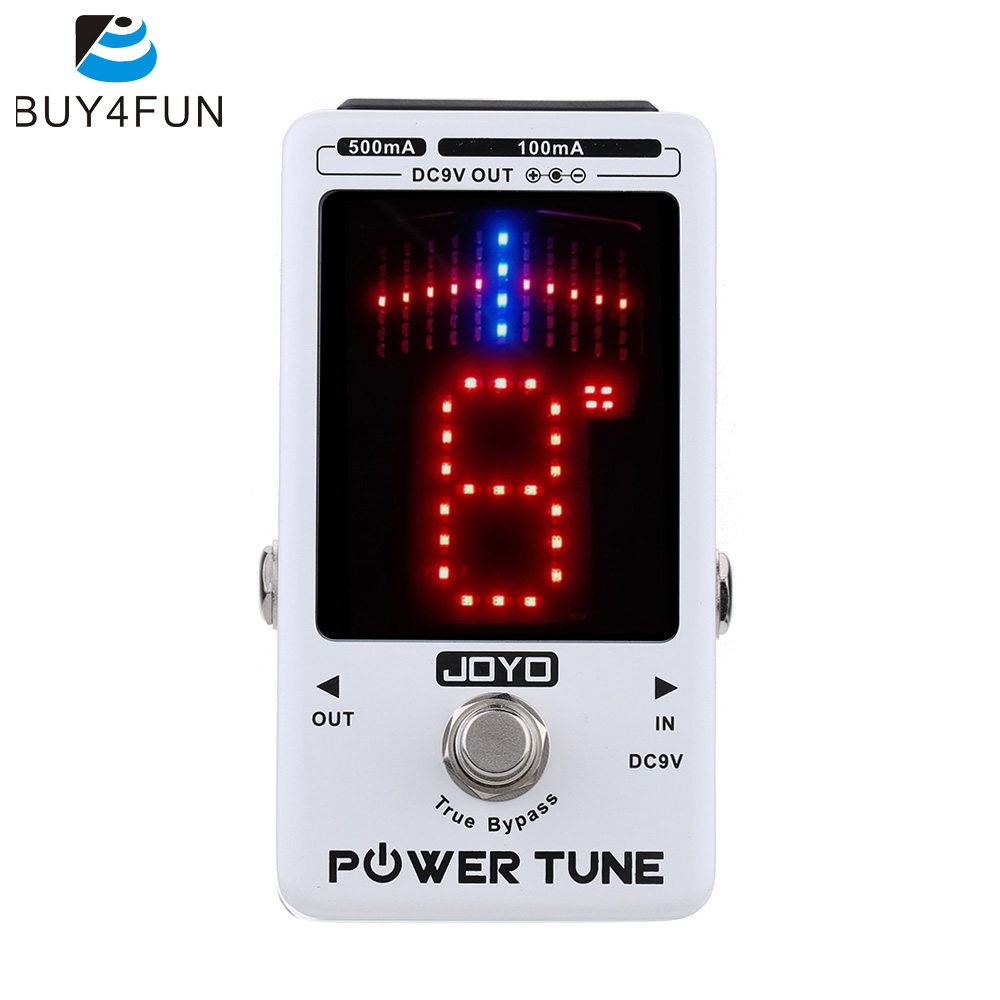 Top Quality JOYO Electric Guitar Bass Tuner 8 Port Multi power Power Supplier Effect Power Tune
