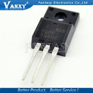 Image 3 - 10 sztuk FQPF5N60C TO 220F FQPF5N60 5N60C 5N60 TO220 do 220 nowy MOS FET tranzystor