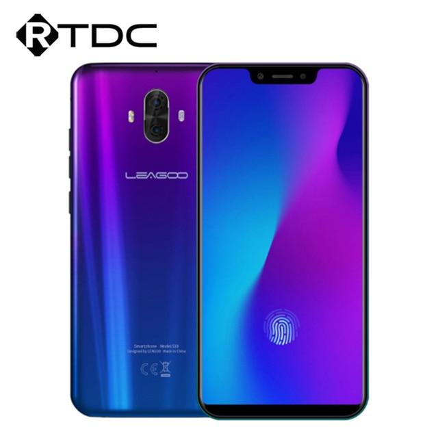 "LEAGOO S10 4G 6.21"" 19:9 Display Android 8.1 6GB RAM 128GB ROM 9V/2A 20MP Fingerprint Wireless Charging 4050mAh Mobile Phone"