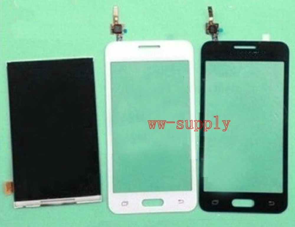 A++ LCD Display+Front Touch Screen Glass Digitizer Sensor Panel For Samsung Galaxy Core 2 SM-G355H/DS G355H +Adhesive+Kits