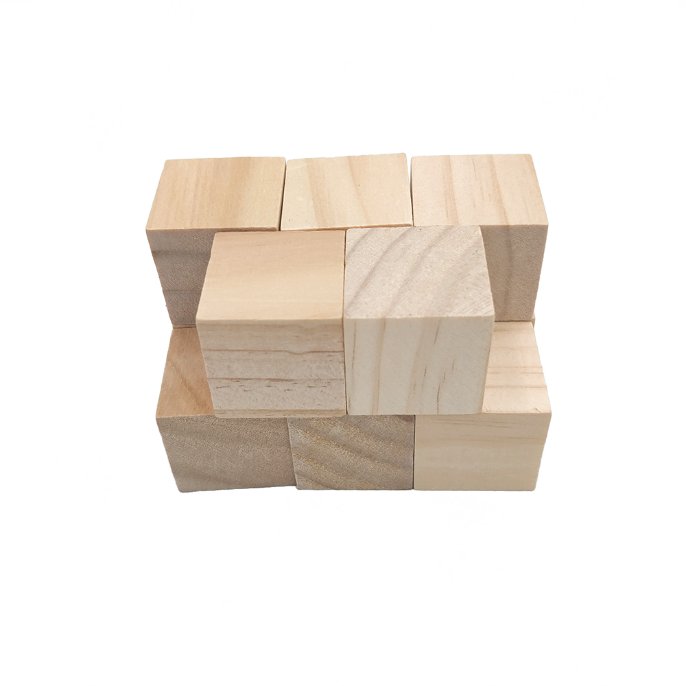 Us 209 52 Off6pcs 30mm 118inch Natural Solid Unfinished Pine Wood Blocks Wood Cubes For Puzzle Making Photo Blocks Crafts And Diy Projects In