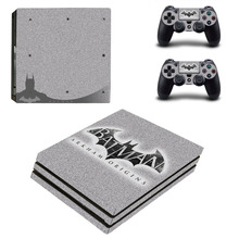 DC Batman and Superman Decal PS4 Pro Skin Sticker and Controllers PS4 Pro Skin Stickers Vinyl